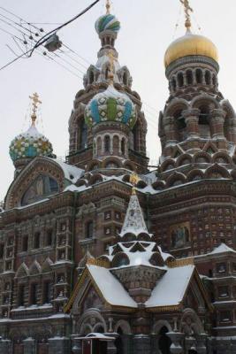 Christi-Erlöserkirche im Winter