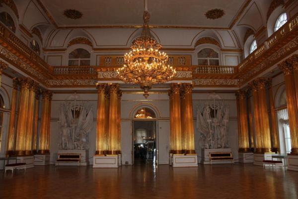 Saal in der Eremitage im Winterpalast