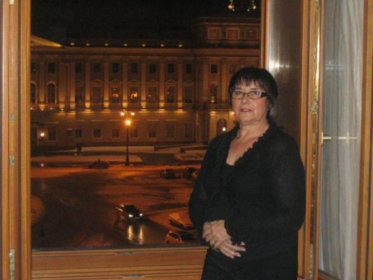 Unsere Kundin in St. Petersburg