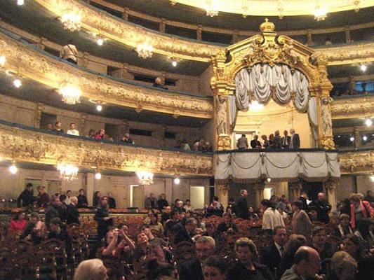 Saal im Mariinsky-Theater