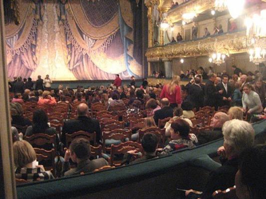 Im Saal vom Mariinsky-Theater