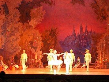 Ballettaufführung in St. Petersburg
