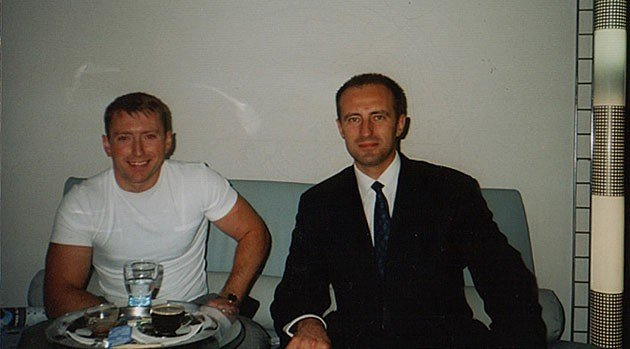 AL.EX Geschäftsführer Herr Kudriavtsev (rechts) und unser Kunde