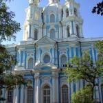 Smolny Kloster in St. Petersburg