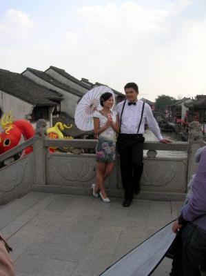 Kunden fotografieren: Chinesisches Pärchen in Suzhou