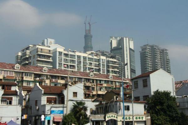 Kunden fotografieren: Shanghai - Häuserblock