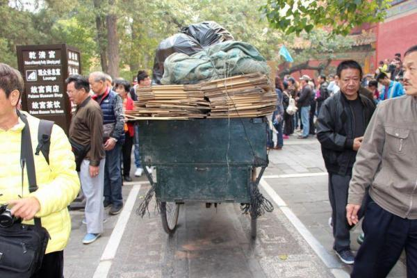 Kunden fotografieren: Shanghai - Rikscha
