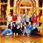 Tänzer vom Dance Sport World Championship in St. Petersburg