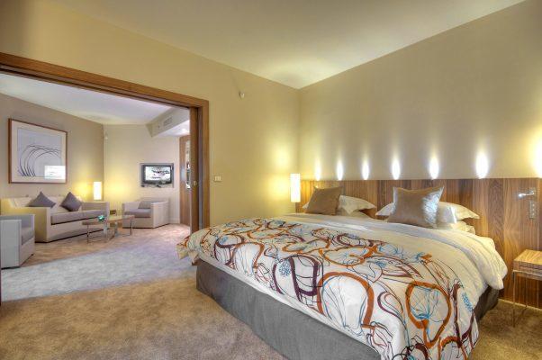 Suite im Hotel Hilton Malta