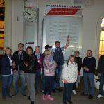 Reisegruppe Welz in St. Petersburg, Kunden fotografieren