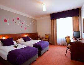 Zweibettzimmer im Hotel Atlantic