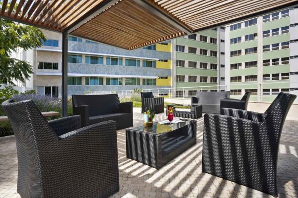 Terrasse vom Hotel HF Fenix Garden