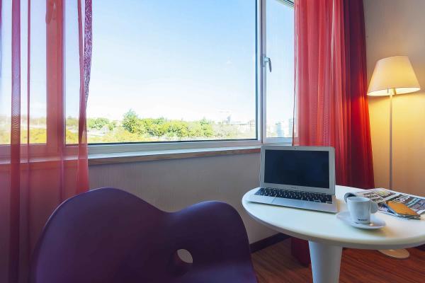 Zweibettzimmer mit Garten im Hotel HF Fenix Garden
