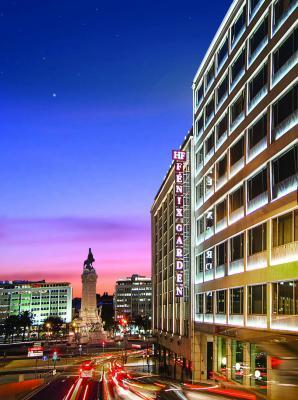 Fassade vom Hotel HF Fenix Garden