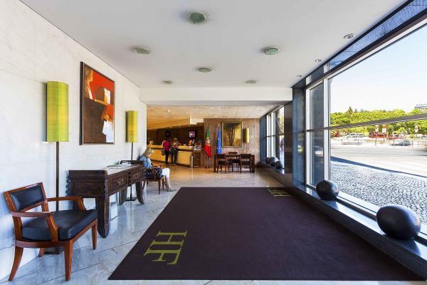 Eingang im Hotel HF Fenix Lisboa