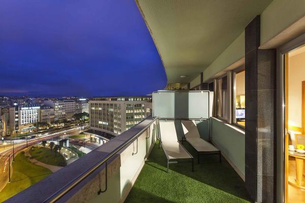 Marques Terrasse im Hotel HF Fenix Lisboa