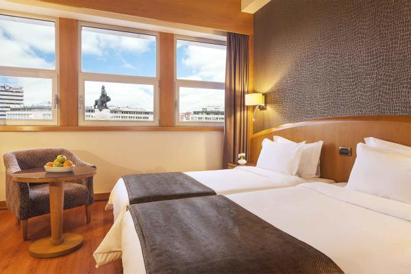 Zweibettzimmer im Hotel HF Fenix Lisboa