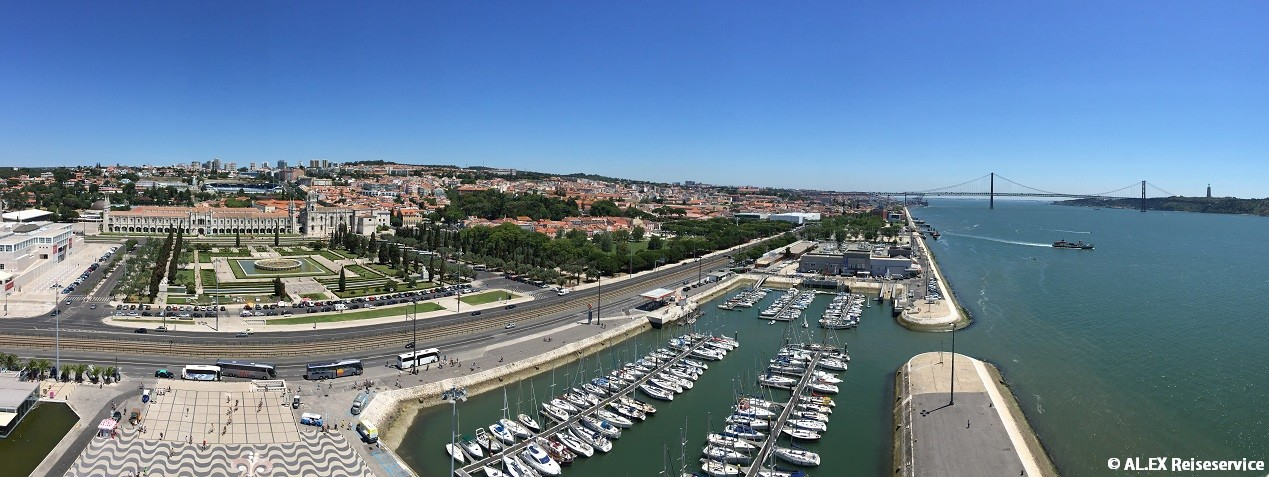 Sehenswürdigkeiten in Lissabon: Panorama Lissabon