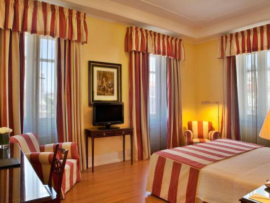 Doppelzimmer im Hotel Avenida Palace