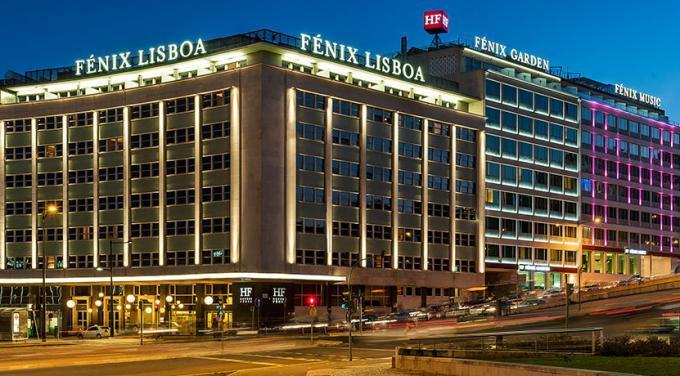 Fassade - Hotel HF Fenix Lisboa, Lissabon
