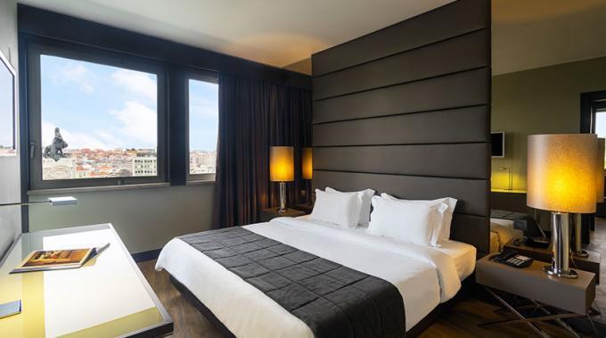 Doppelzimmer - Hotel HF Fenix Lisboa, Lissabon