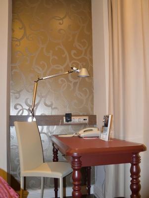 Arbeitsplatz im Hotel Mercure Moscow Paveletskaya