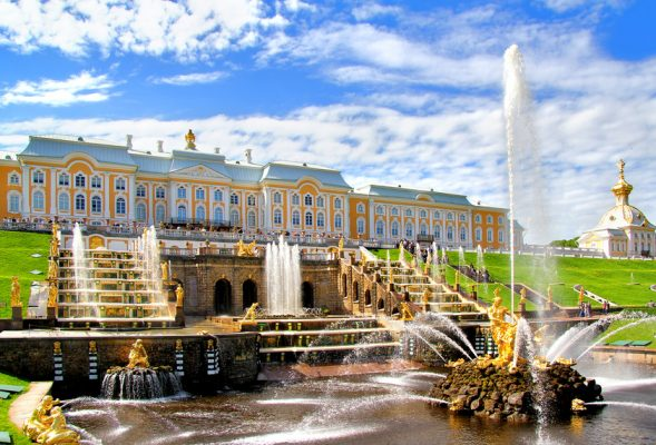 Rundreise Russland: Peterhof in St. Petersburg