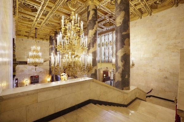 Lobby im Hotel Hilton Leningradskaya