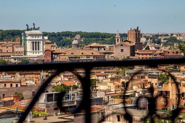 Ausblick ROM Hotel Colosseum