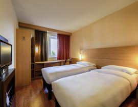 Zweibettzimmer im Hotel IBIS Bakhrushina