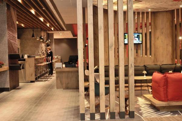 Lobby im Hotel IBIS Bakhrushina