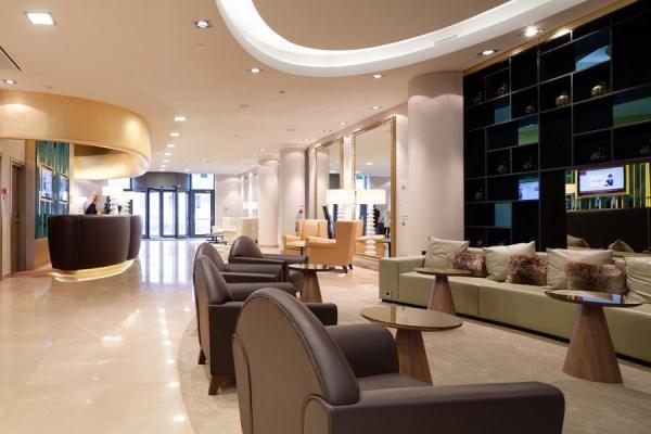 Lobby im Hotel Mercure Paveletskaya