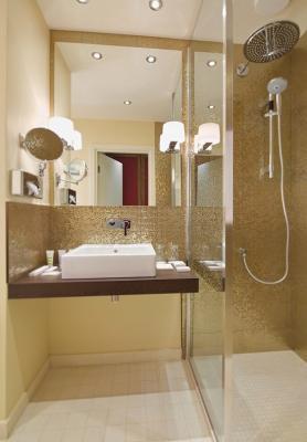 Badezimmer im Hotel Mercure Paveletskaya