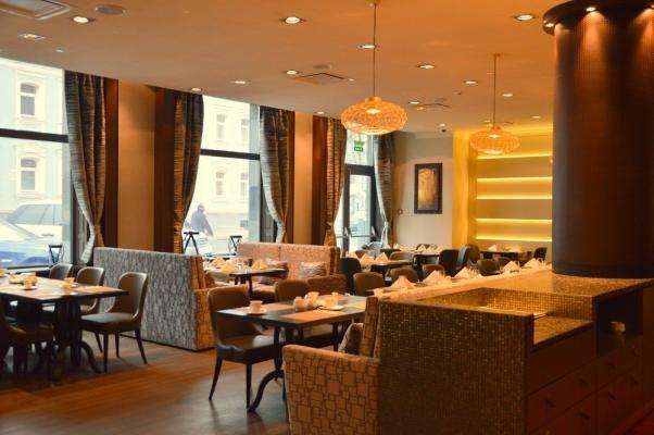 Restaurant im Hotel Mercure Moscow Paveletskaya