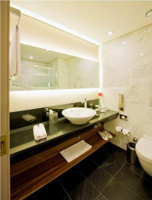 Badezimmer im Hotel Doubletree by Hilton Old Town Istanbul