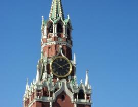 Kreml in Moskau - Spasski-Turm