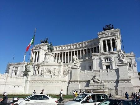 Monument Vittorio Emanuele II in Rom