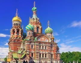 Christi-Erlöserkirche Gruppenreise Moskau und St. Petersburg