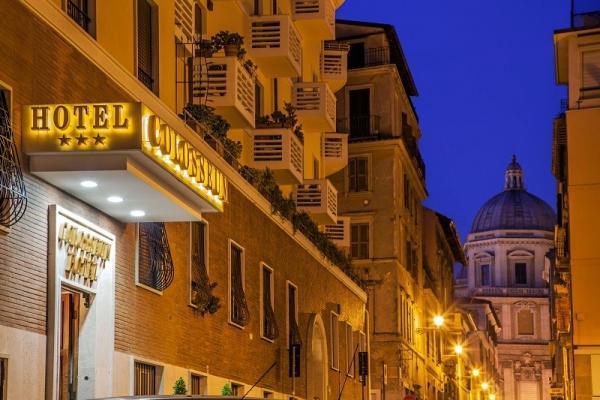 Fassade ROM Hotel Colosseum