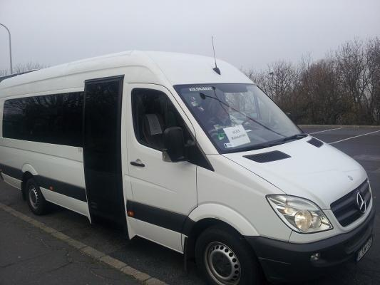 Minibus, Budapest, Transfer BUD