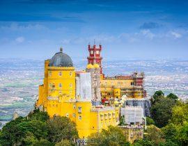Lissabon, Sintra, Pena-Palast