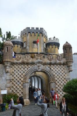 Sintra: Palacio Nacional de Pena
