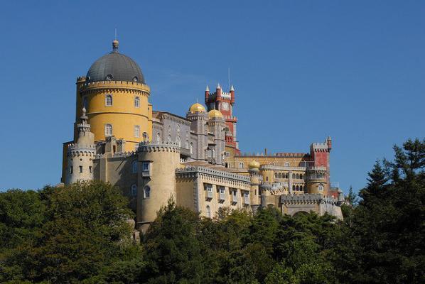 LIS, Lissabon, Palacio de Pena in Sintra