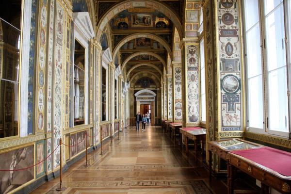 St. Petersburg: Eremitage, Urlaub in Russland