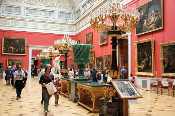 St. Petersburg: Eremitage, Russland Reise