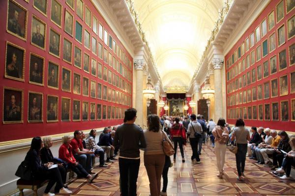 St. Petersburg: Eremitage, Reise nach Russland