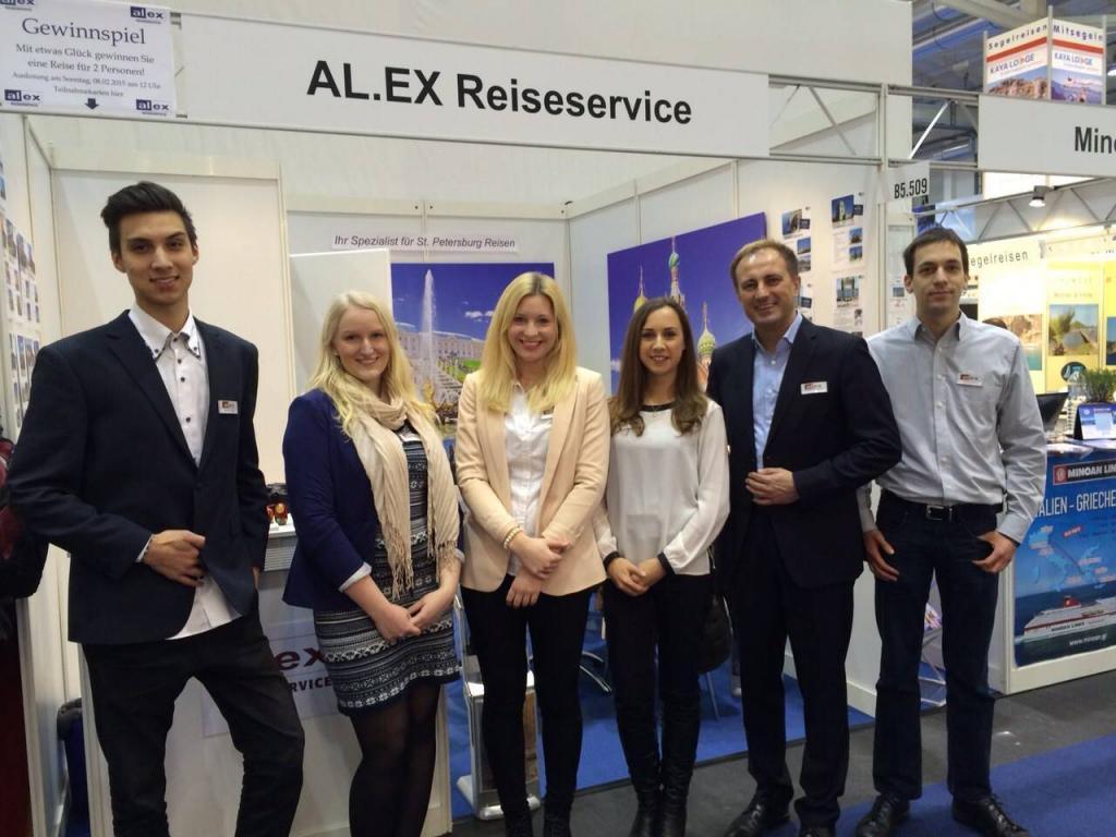 AL.EX Reiseservice. Messe Hamburg Reisen 2015