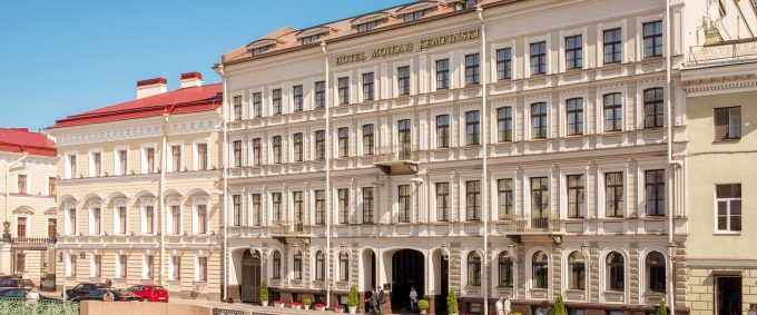 Kempinski Hotel Moika 22, geführte Reise Petersburg