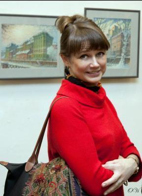 Irina Netschajewa, Reiseleiterin in St. Petersburg