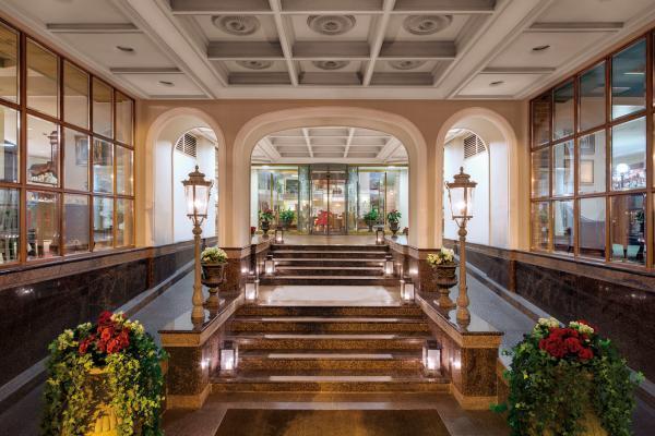 Hotel Kempinski St. Petersburg Eingangsbereich